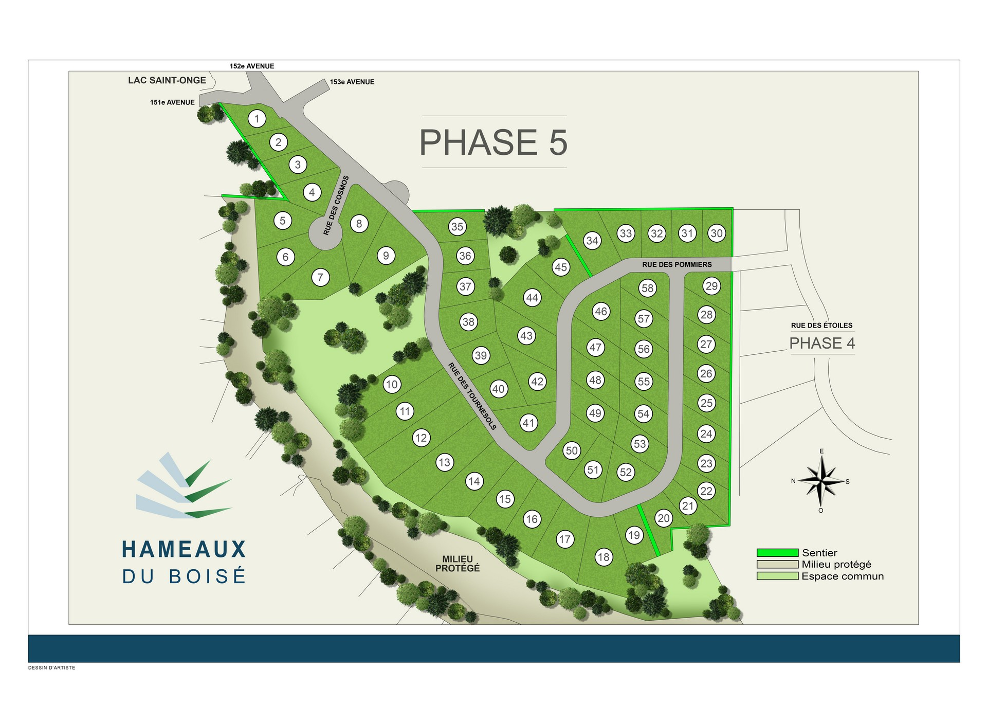 Plan de site phase 5